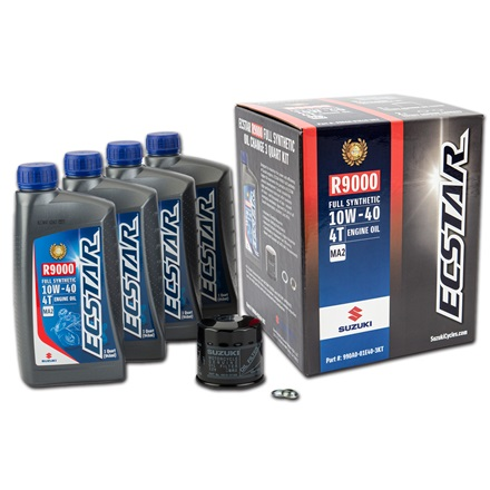 ECSTAR R9000 Full Synthetic Oil Change Kit (4 Quart) picture