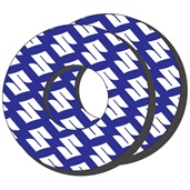 Grip Donuts, Blue/White