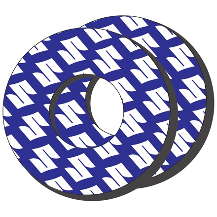 Grip Donuts, Blue/White picture