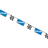 Suzuki String Pennants, Blue
