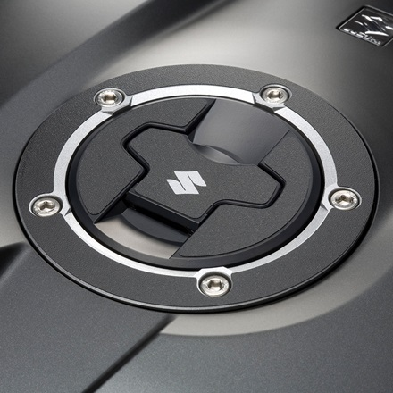 Fuel Cap Decal, Black Grain picture