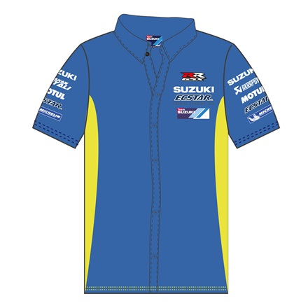 17 Team SUZUKI ECSTAR Pit Shirt picture