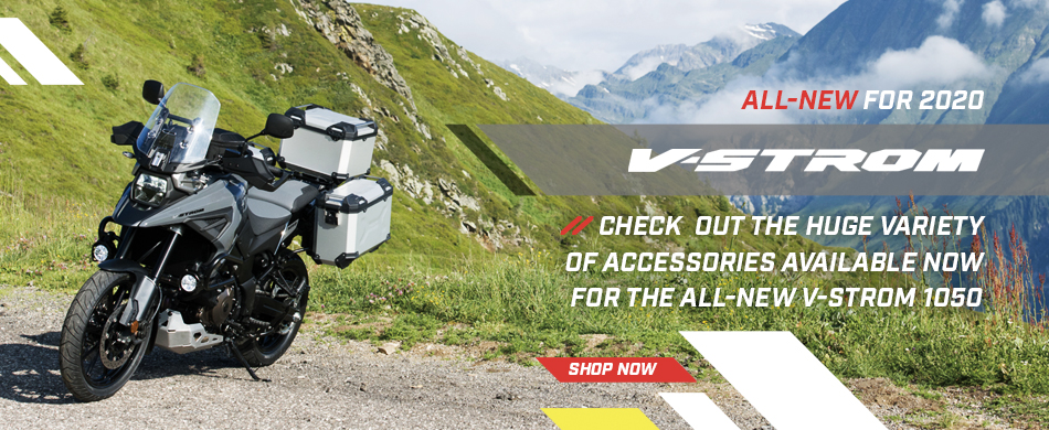 V-Strom 1050 Accessories - Available Now