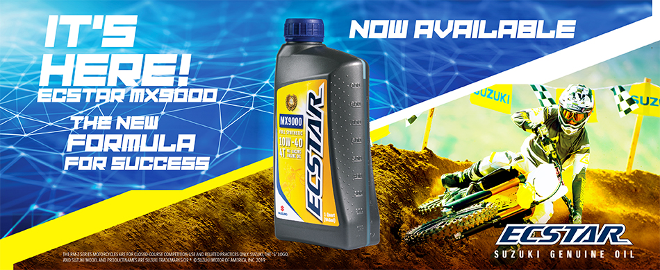 ECSTAR MX9000 Full Synthetic Motocross Race Oil - Now Available